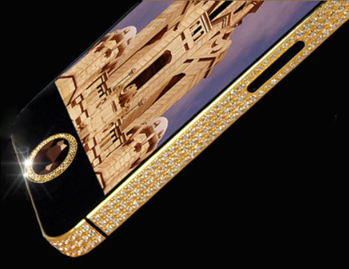 A real gold iPhone