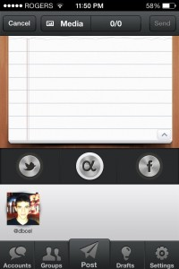 Socializer - MultiAccount Posting by Reggie Ashworth screenshot