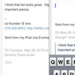 Evomail for iPhone 3