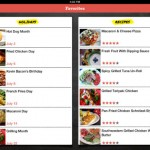 Food.com Every Day is a Food Holiday for iPad 4