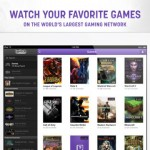 TwitchTV for iPad 1