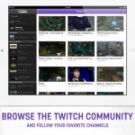 TwitchTV for iPad 2