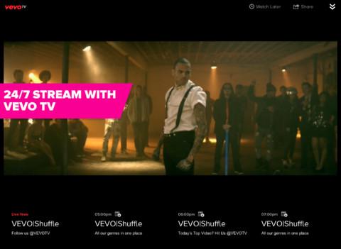 vevo tv is set to start airing on apple tv