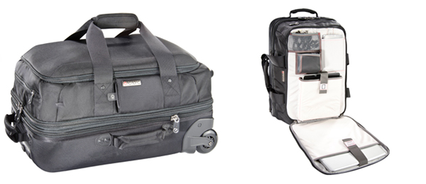 The Falcon rolling duffle bag comes in two different sizes.