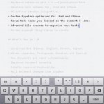 iA Writer for iPad 3