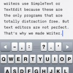 iA Writer for iPhone 2