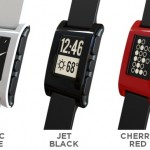 Pebble: Arctic White, Jet Black, and Cherry Red.