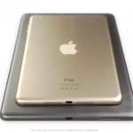 Gold iPad mini.