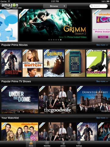 finally amazon instant video gains airplay support for. Black Bedroom Furniture Sets. Home Design Ideas
