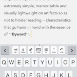Byword for iPhone 1