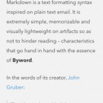 Byword for iPhone 2