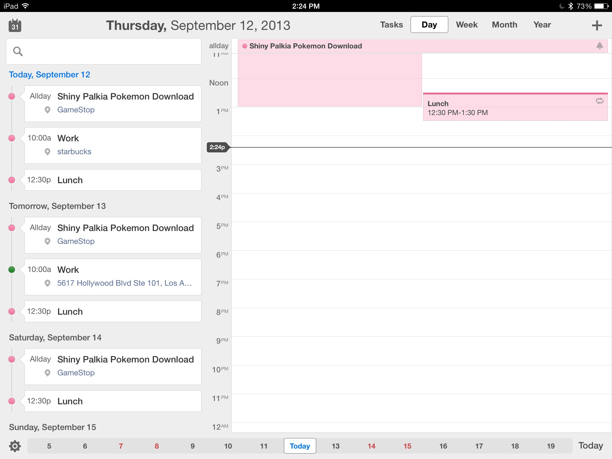 s productivity calenders planners ios
