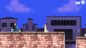 A Wedding Run: Escape From The Bride - Free HD Racing Game by Townsend & Cox, LLC screenshot