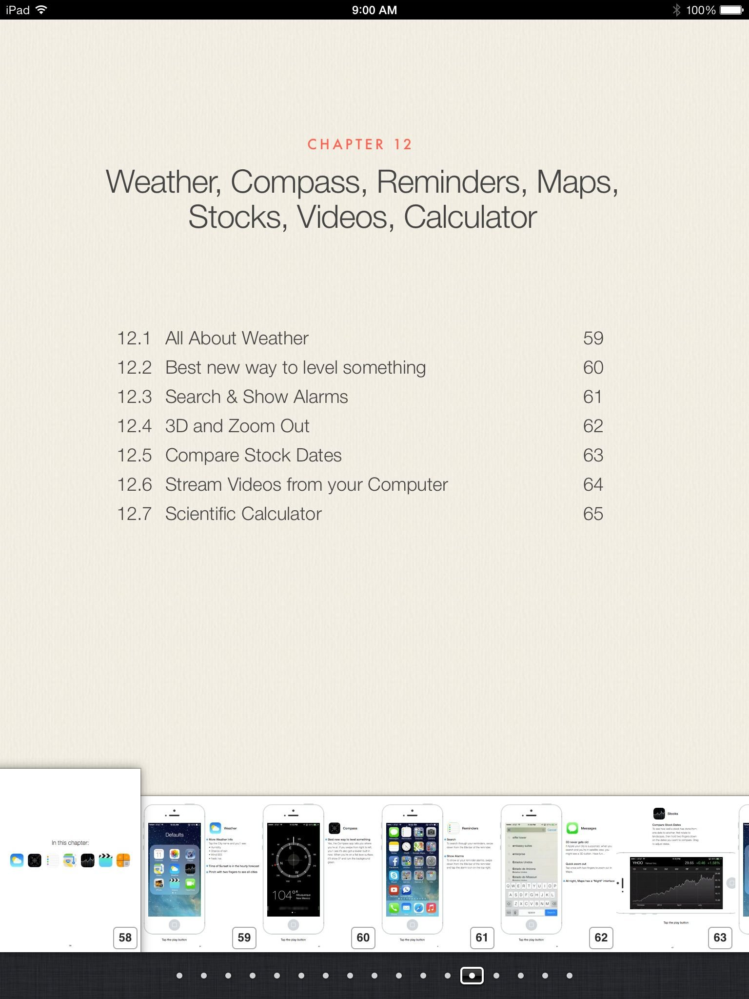 Ios7 tips - Magazine cover