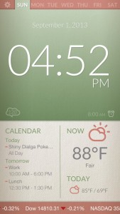 Now Alarm Clock by Red Hot Apps screenshot