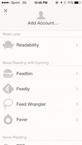 Reeder 2 by Silvio Rizzi screenshot