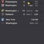 Yahoo! Sports for iPhone 1