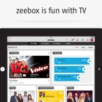 Zeebox for iPad 1
