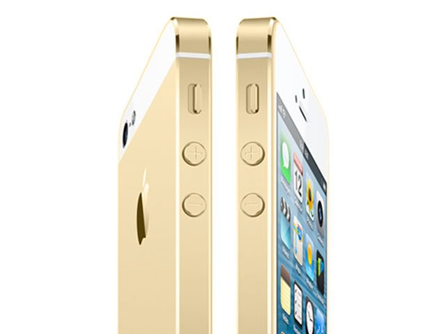 The iPhone 5S could arrive in a gold color