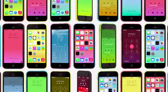 photo image As Apple's New Ad Suggests, The iPhone 5c and iOS 7 Are 'Designed Together'