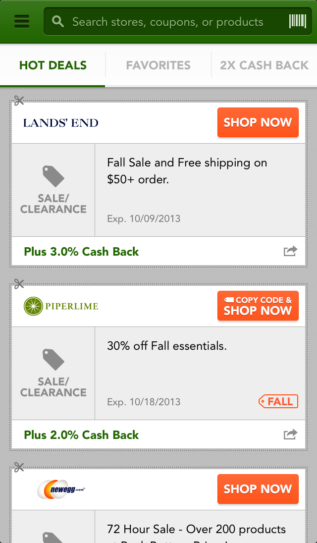 Home Depot Mobile App Coupon