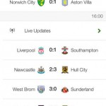 The Football App for iPhone 1