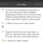 The Football App for iPhone 3