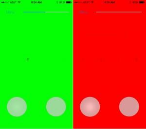 Feedback (iPhone 5) - Correct and Incorrect