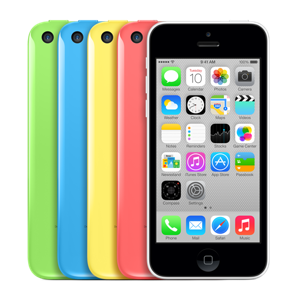 The iPhone 5c is easy to find