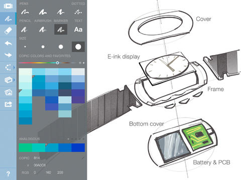 Concepts' New Strokes Feature Is A Stroke Of Smart Sketching Genius