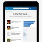 Dictionary.com for iPad 1