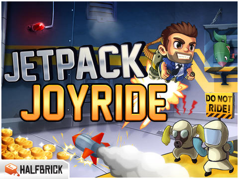 Ride The Sleigh Of Awesome Or The Strong Arm Machine In Jetpack Joyride