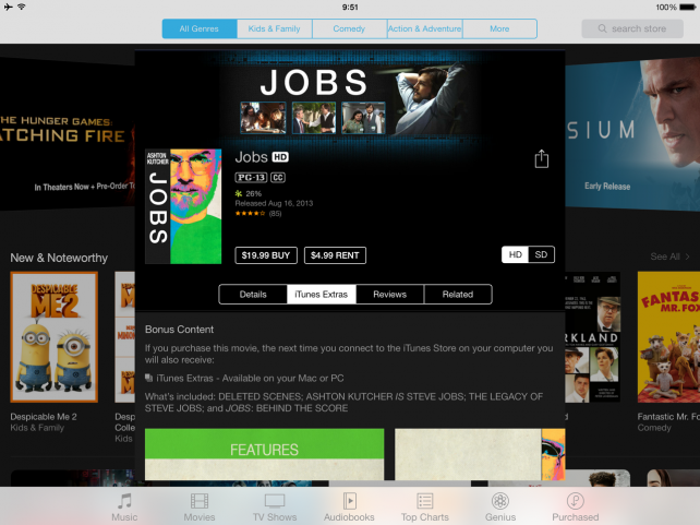 'Jobs' Biopic Starring Ashton Kutcher Now Available In The iTunes Store