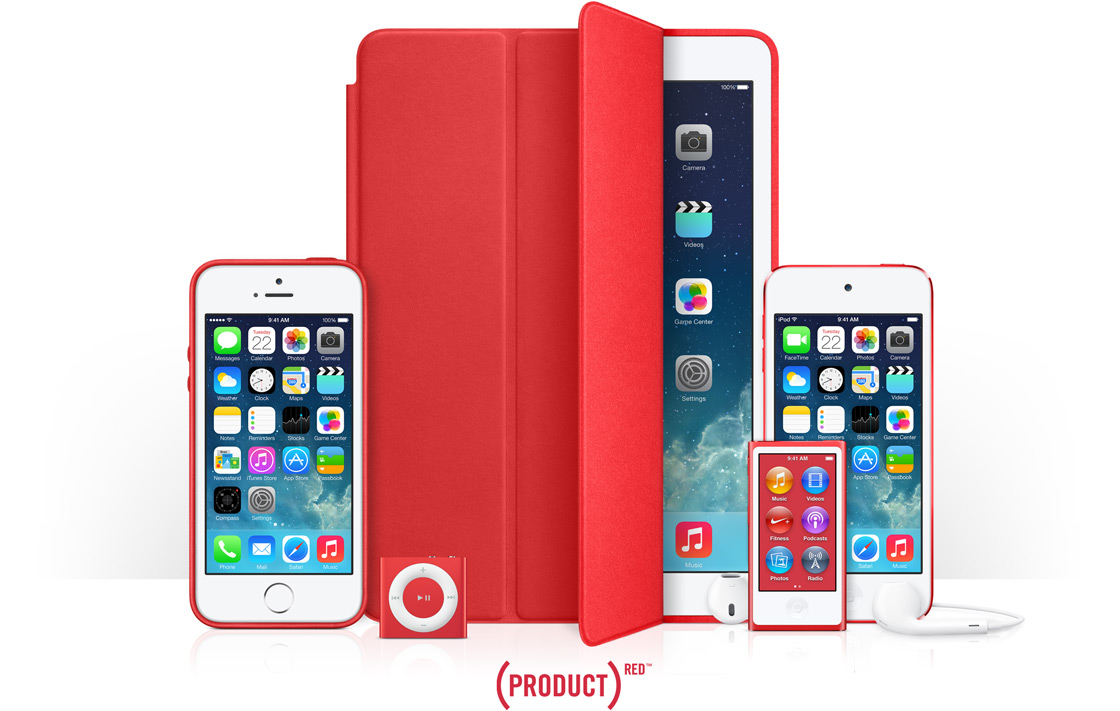product red Every (product)red™ purchase, from iphone 8 special edition to an apple watch band, brings us one step closer to an aids-free generation.