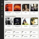 Spotify for iPad 4