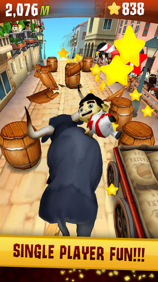 Zynga's Running With Friends Gains Single-Player Mode, Rebrands As Stampede Run