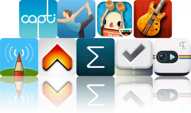 Todays Apps Gone Free: Capti Narrator, Pocket Yoga, Toca Builders And More