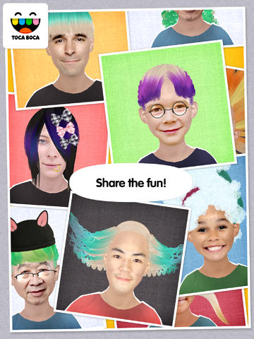Find your personal style in toca hair salon me - Toca hair salon game ...