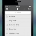 Elements for Dropbox for iPhone 1