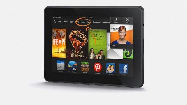 Amazon v nové reklamě srovnává Kindle Fire HDX a iPad Air (Video)
