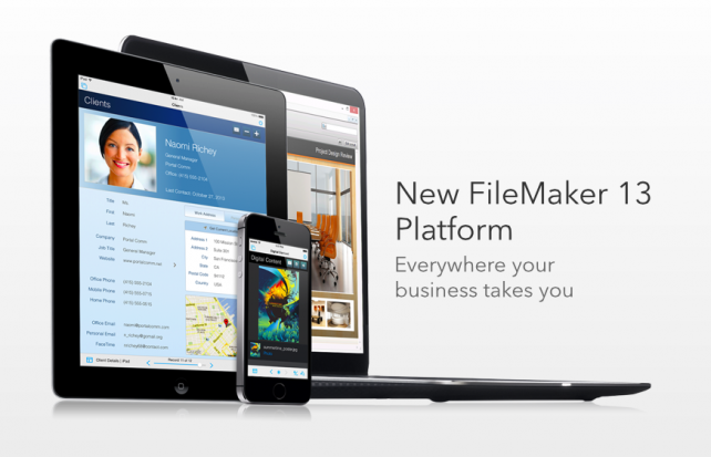 Apple Subsidiary FileMaker Releases New FileMaker 13 Database Software Platform