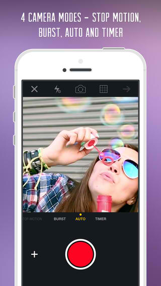 GifBoom 5.0 Features iOS 7 Interface, New Camera Modes, Segments And Groups