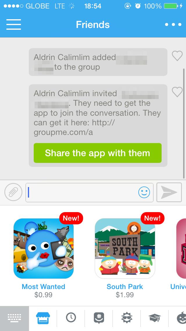 Groupme app iphone