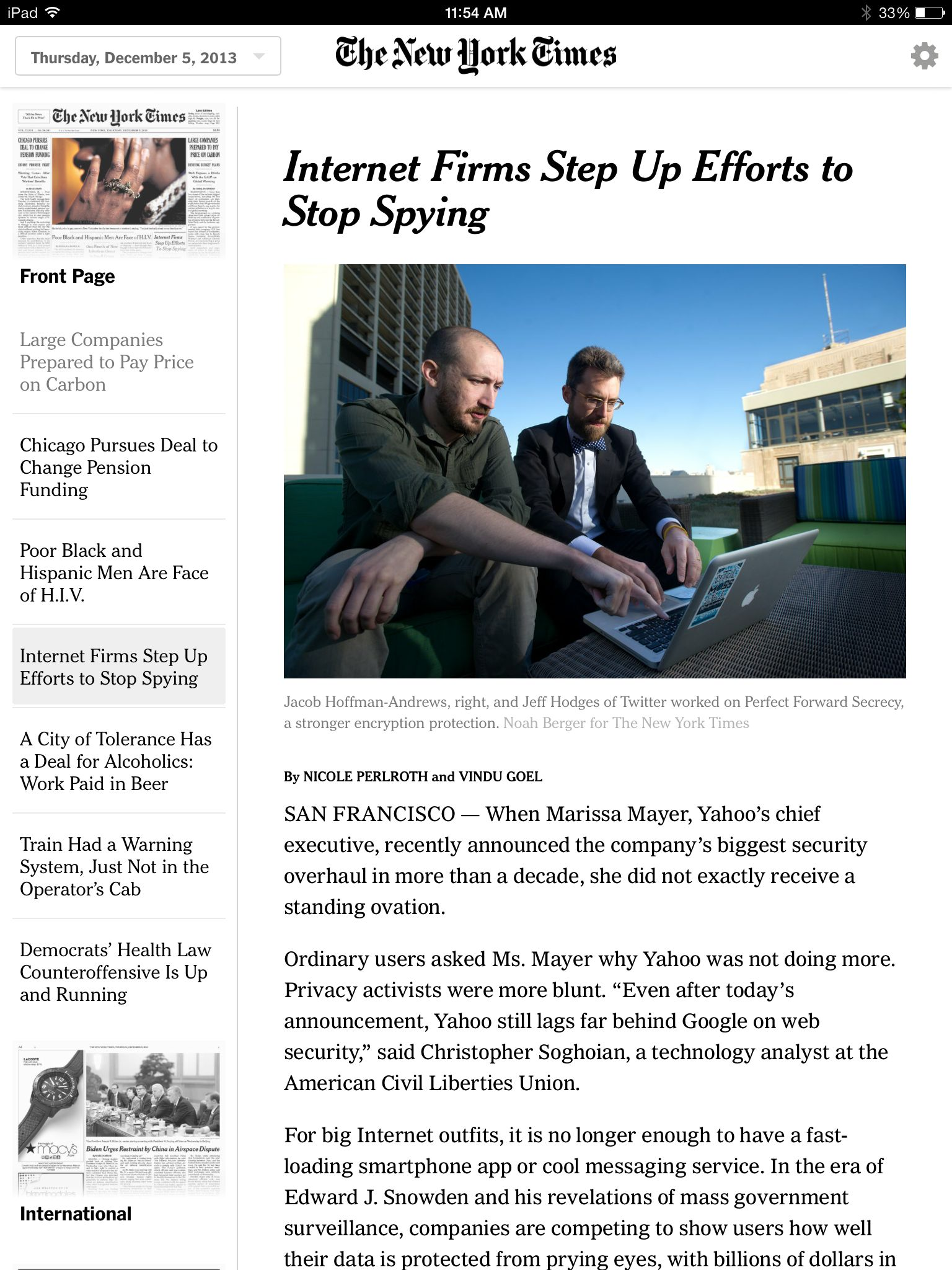 ny times todays paper Ny times todays paper 7751 image : the new york times launches today's paper responsive app for ny times todays paper is.