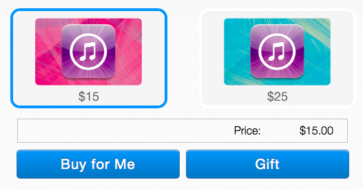 You Can Now Buy iTunes Gift Cards From PayPal Through Its New Digital Gifts Store