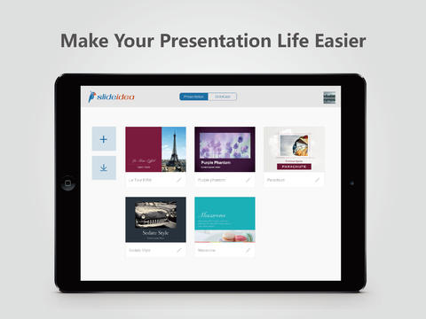 Easy-To-Use Presentation App SlideIdea Updated With Video W...