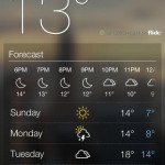 Yahoo Weather for iPhone 2