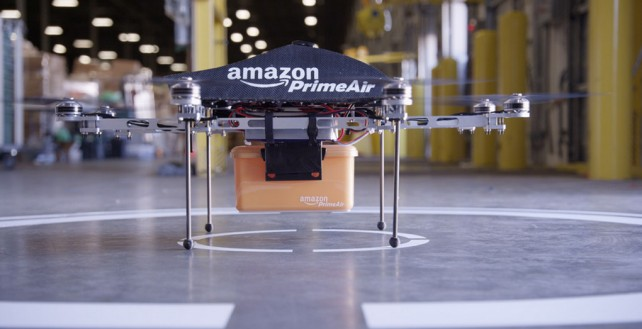 Future iPads Could Be Delivered In 30 Minutes Courtesy Of An Amazon Drone