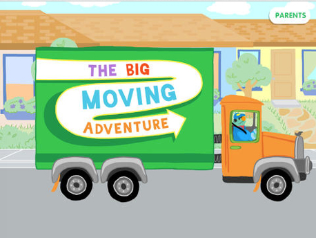 The Big Moving Adventure is also designed for kids 2-5.