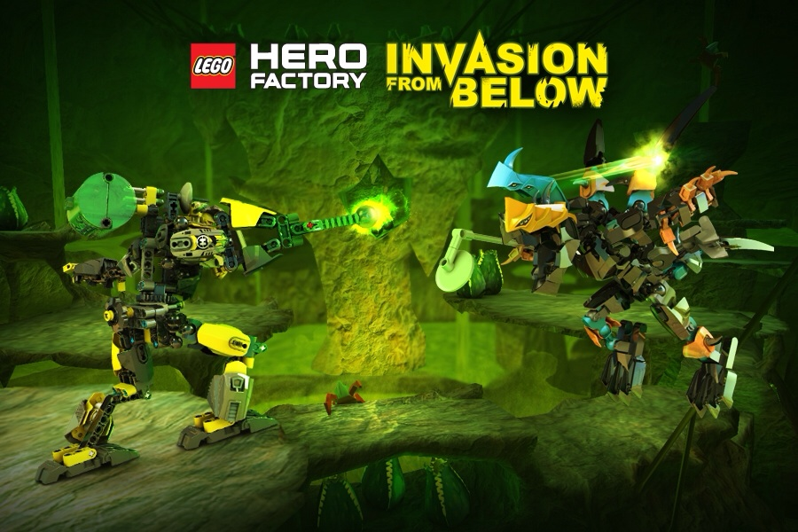 Hero Factory Invasion From Below To Reach The App Store Next Month